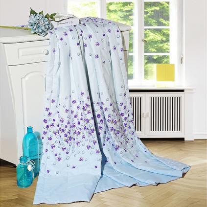 水星家纺 夏季床上用品清馨花雨春夏被定制108438