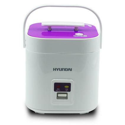 韓國現代(HYUNDAI)迷你電飯鍋1.2L便攜小型不粘鍋電飯煲HYFG-1012定制