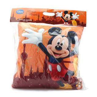 迪士尼(Disney)米奇缤纷乐园多功能抱枕被保暖盖被靠垫定制