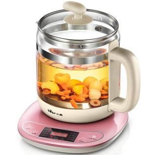 小熊養生壺定制 養生壺全自動多功能玻璃煎藥壺煮茶壺 YSH-B18W2