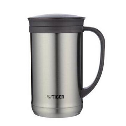 TIGER 虎牌 CWM-A050  0.5L不锈钢保温杯泡茶杯办公杯户外旅行真空杯定制