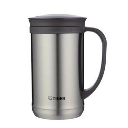 TIGER 虎牌 CWM-A050  0.5L不銹鋼保溫杯泡茶杯辦公杯戶外旅行真空杯定制