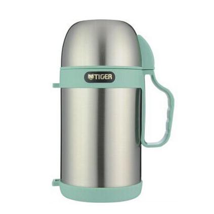 TIGER 虎牌 MCW-P09C 0.9L不锈钢保温杯粥汤煲专用便当盒定制