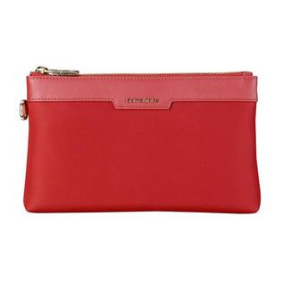Samsonite/新秀丽手包红色女BN8牛皮拎包手拿包手提包定制