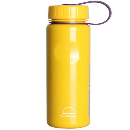 乐扣乐扣 炫彩单层不锈钢便携水杯冷水壶密封防漏运动水壶 LHC7000