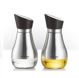 乐扣乐扣 厨房用品防漏酱油瓶调料瓶油壶两件套定制CKO102S002 400ml