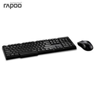 雷柏無線鍵鼠套裝定制 無線鍵鼠套裝 鍵盤 無線鼠標鍵盤套裝 鍵盤鼠標 1800P3