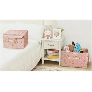 Hello Kitty 加強版硬底硬蓋收納整理箱收納盒2件套定制