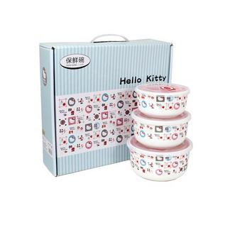 Hello Kitty 保鮮陶瓷三件套定制