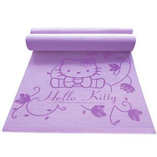 Hello Kitty 加热柔软不吸水加热防滑瑜伽垫定制