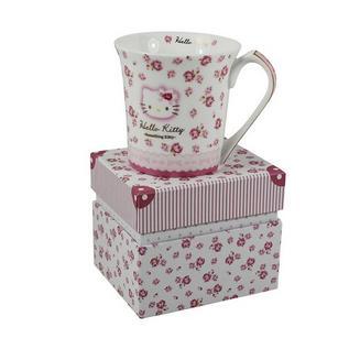 Hello Kitty 创意可爱卡通形象骨瓷饮水杯咖啡杯定制