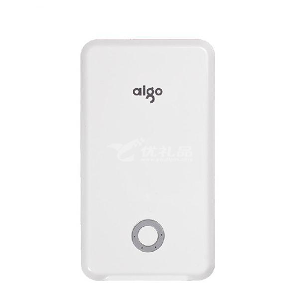 Aigo/爱国者移动电源 10000毫安 K10迷你便携手机平板通用充电宝定制