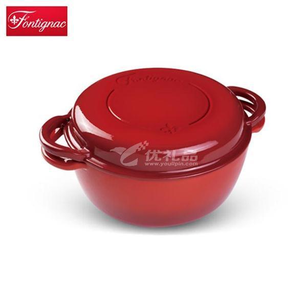 雙立人Fontignac三合一琺瑯鑄鐵燉鍋26cm鍋具定制