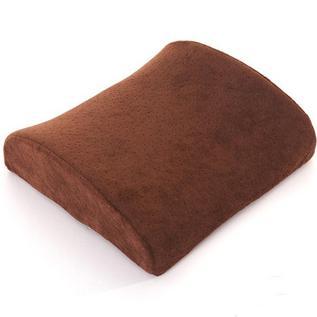 水星家纺 慢回弹护腰垫保健腰枕靠垫办公室靠背垫腰汽车护腰枕定制