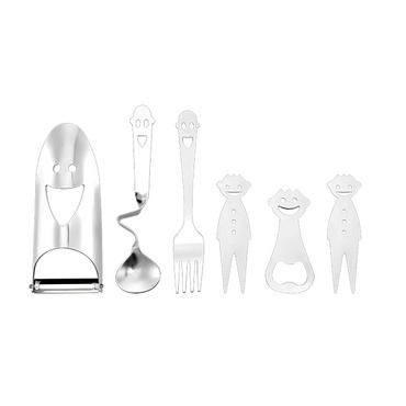 德鉑Debo 比倫 不銹鋼湯匙瓜刨叉子廚房餐具套裝DEP-820定制