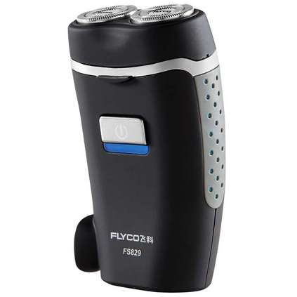FLYCO 飛科 剃須刀定制 充電式男士電動刮胡刀便攜胡須刀兩頭直插充電 刀頭水洗 FS829