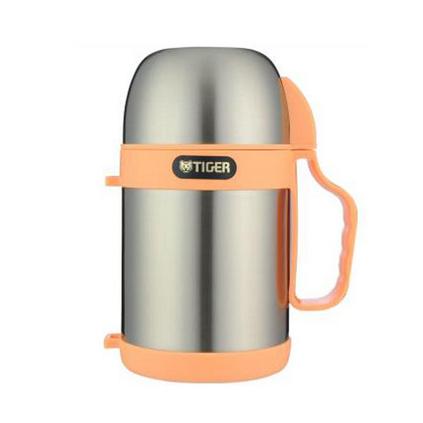 TIGER 虎牌 MCW-P07C 0.7L真空不銹鋼便當盒粥湯煲專用保溫杯定制