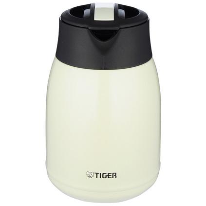 TIGER 虎牌 PWM-A12C 1.2L雙層不銹鋼真空便攜保溫保冷瓶熱水瓶咖啡壺定制
