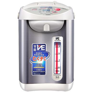TIGER 虎牌 微电脑VE真空保温电热水瓶定制 日本原装健康除氯三段保温冲奶电热水瓶 PVW-B30C 3L