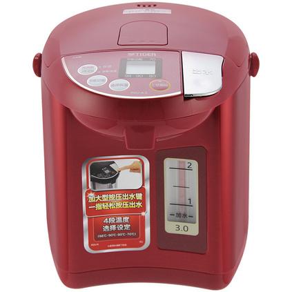 TIGER 虎牌 微电?#36816;畝问?#30495;空保温电热水瓶定制 电热水?#31354;?#21697;日本进口3L微电脑保温 PDU-A30C 3L