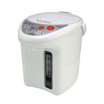 TIGER 虎牌 微电脑智能速热保温电热水瓶定制 微电脑电热水瓶三段保温去氟除味 电热水壶 PDH-A22C 2.2L