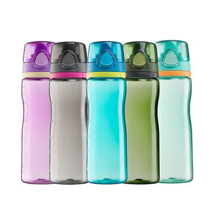 THERMOS 膳魔師 便捷式運動塑料水杯定制 運動水壺水杯戶外便攜大容量塑料隨手杯 700ml HT-4002