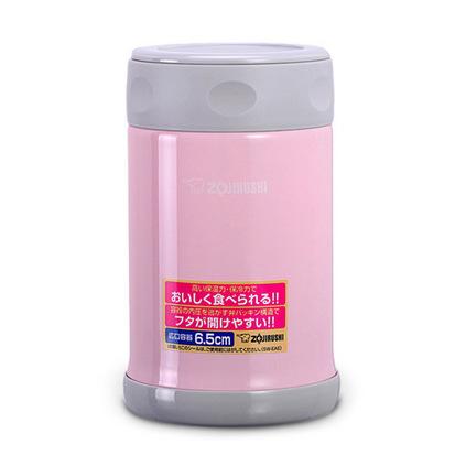 ZOJIRUSHI 象印 不銹鋼真空燜燒杯定制 燜燒杯進口不銹鋼保溫杯 食物罐保溫飯盒 SW-EAE50 500ml