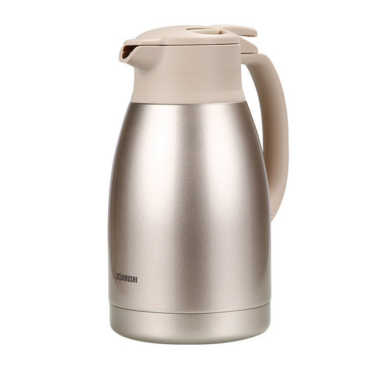 ZOJIRUSHI 象印 保温瓶定制 真空不锈钢大容量家用热水瓶暖壶开水瓶保温瓶 1.5L SH-HA15C 金色