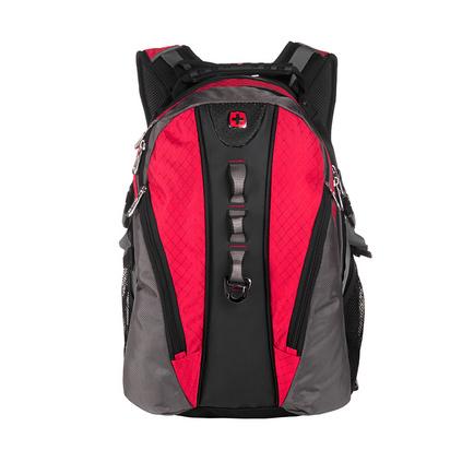 SWISSGEAR 瑞士軍刀 時尚休閑男女包雙肩包電腦包戶外旅行雙肩包 SA-9964 紅色定制