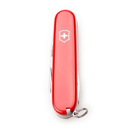 VICTORINOX 维氏 瑞士军刀 91毫米 修补匠 1.4603红色户外便携多功能不锈钢易折叠定制