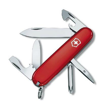 VICTORINOX 维氏 瑞士军刀 91毫米 修补匠 1.4603红色户外便携多功能不锈钢易折叠亚博体育app下载地址