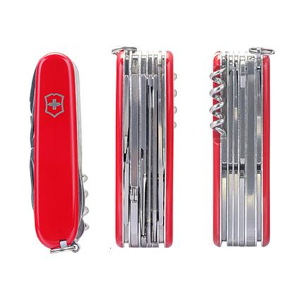 VICTORINOX 維氏 瑞士軍刀 91毫米 工匠 紅色光面 戶外便攜優質不銹鋼 1.3773定制