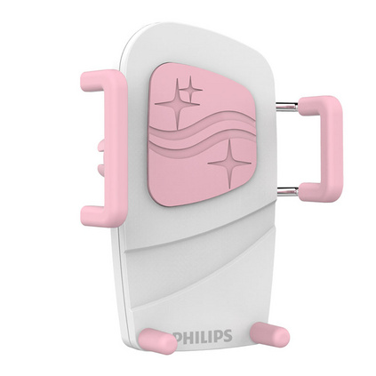 PHILIPS 飞利浦 车载空调出风口支架多功能手机支架通用卡扣式 DLK35001创意小礼品