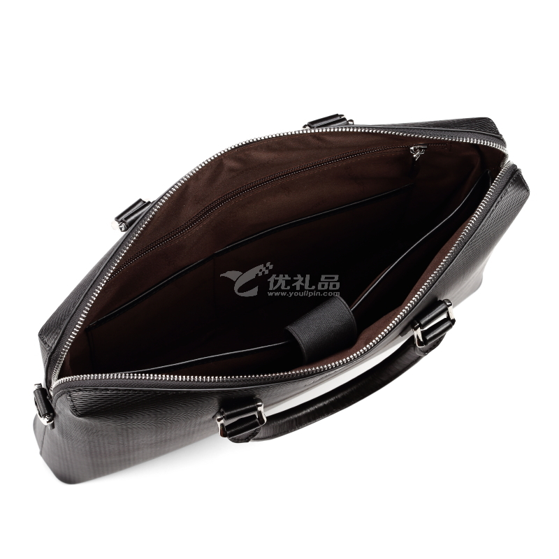 Samsonite 新秀麗 BEATA系列經典公文包時尚商務手拎包牛皮包定制BN609002