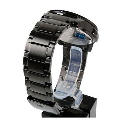 CASIO 卡西欧 商务防水黑盘钢带男士腕表定制 EFR-526BK-1A2