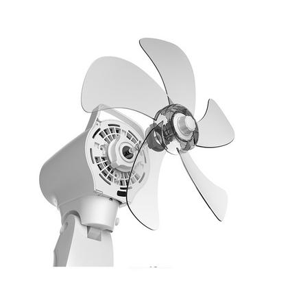 Midea 美的 搖頭電風扇 智能變頻 靜音落地立式 FS40-17JRW定制