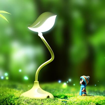 生活演異 鳥語調光燈ABS塑料硅膠金屬電子元件創意精美禮品
