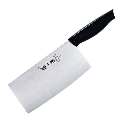 張小泉 CD-175X 菜刀家用不銹鋼廚房切菜刀鋒利的斬骨切肉兩用刀具套裝定制