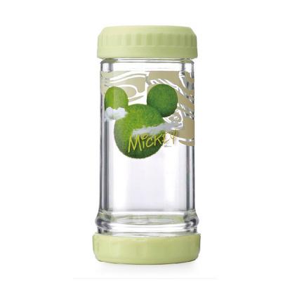 Disney 迪士尼 云跡森林多用杯玻璃杯二合一可裝冷熱水多用杯 DSM-AE052