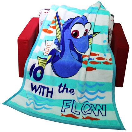 Disney 迪士尼 海底總動員能云毯定制 嬰兒毛毯新生兒四季通用寶寶毯子兒童雙層加厚春秋冬季云毯 DDYS1111007