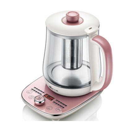 Bear 小熊 养生壶定制 养生壶全自动玻璃多功能电热烧水花茶壶养身 YSH-A15E1