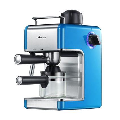 Bear 小熊 意式咖啡機定制 意式咖啡機家用全自動意式煮咖啡機小型迷你 KFJ-202AA