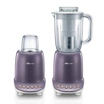 Bear/小熊 LLJ-A12Q3 料理机多功能家用电动豆浆果汁机搅拌绞肉机定制