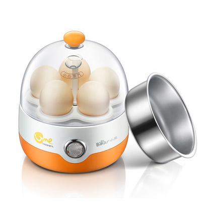 Bear 小熊 煮蛋器定制 多功能煮蛋器迷你蒸蛋器不銹鋼早餐機自動斷電 ZDQ-2201