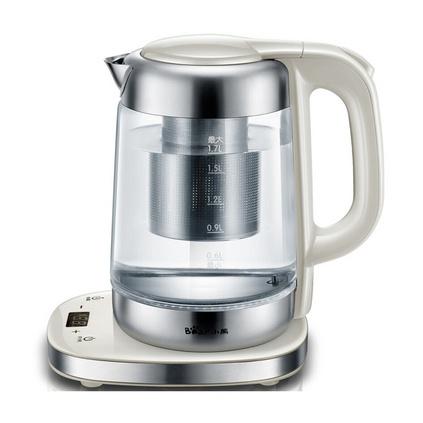 Bear/小熊 ZDH-A17J1电热水壶加厚玻璃保温全自动控温烧水壶定制
