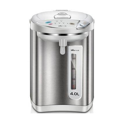 Bear/小熊 ZDH-P40Q1电热水瓶304不锈钢烧水4升保温家用电热水壶定制