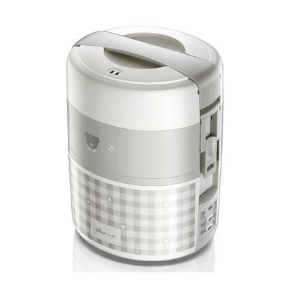 bear小熊 DFH-A20D1電飯盒三層預約定時可插電加熱保溫飯盒真空蒸飯器定制