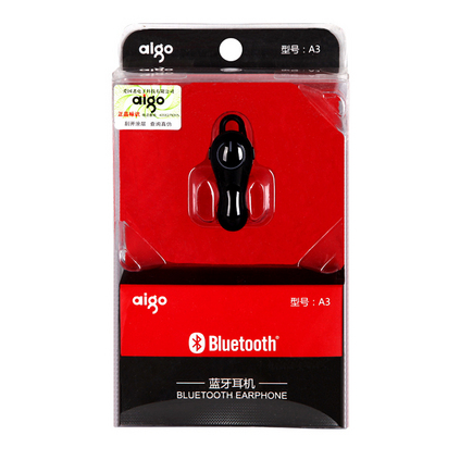 Aigo/爱国者 A3挂耳式耳塞式无线运动迷你超小蓝牙耳机定制