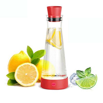 EMSA 愛慕莎 冰凌 德國進口玻璃冷水壺  1.0L涼水瓶定制