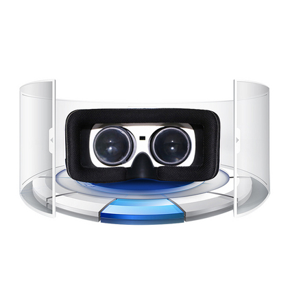 E途  R13八核虛擬現實VR眼鏡智能游戲一體機定制